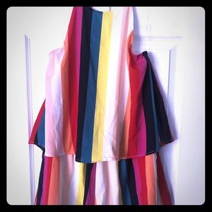 Dresses & Skirts - NWT rainbow romper